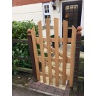 Solid Oak Exterior Gate - Made To Measure