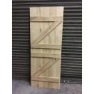 Solid Oak Ledge and Brace Stable Door
