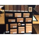 Hardwood Sample Display Board